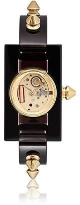Gucci Women's Spike-Accented Plexiglas® Watch