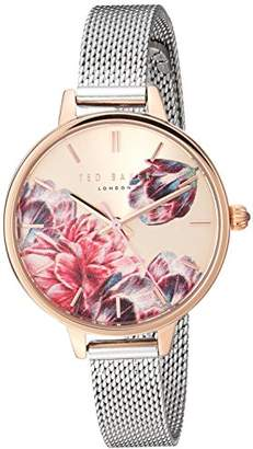 4574bf098 Ted Baker Women s Kate Quartz Watch with Stainless-Steel Strap