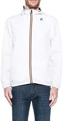 K-Way White Hood Jacket