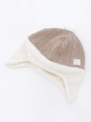 petit main (プティ マイン) - プティマイン 耳当て付ベビー帽