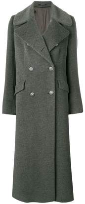 Tagliatore long double breasted coat