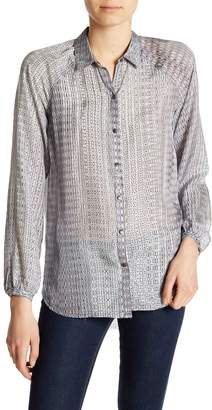 Surface to Air go > by GoSilk Go Patterned Silk Shirt