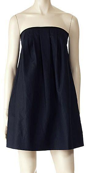 3.1 Phillip Lim Pleated Strapless Dress