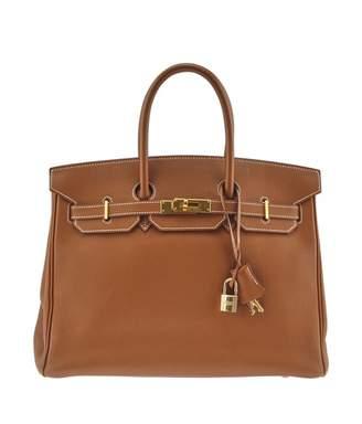 Hermes Birkin 35 leather handbag