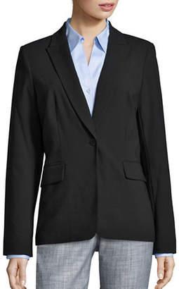 Calvin Klein One Button Blazer
