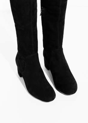 Suede Over The Knee Slim
