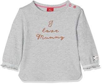 S'Oliver Baby Girls' 65.809.31.8360 Longsleeve T - Shirt