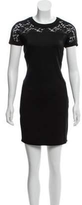 Just Cavalli Lace Mini Dress Black Lace Mini Dress