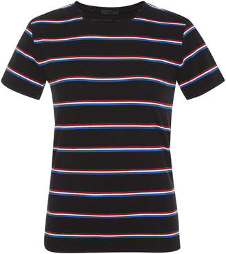 ATM Striped Cotton-Jersey T-Shirt