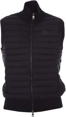 Moncler Blue Tricot Vest