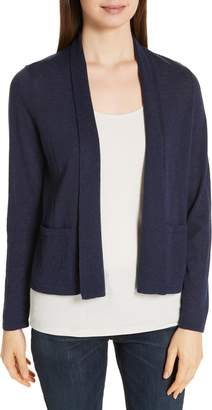 Eileen Fisher Shawl Open Cardigan