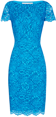 Ainsley Corded Lace Dress $498 thestylecure.com