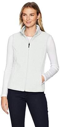 Amazon Essentials Women's Standard Full-Zip Polar Fleece Vest