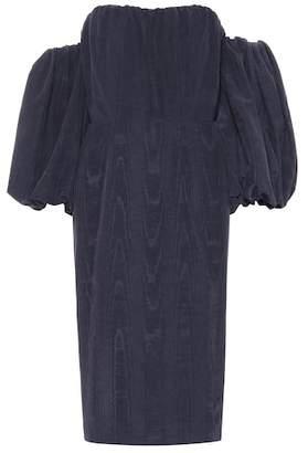 Stella McCartney Off-the-shoulder taffeta dress