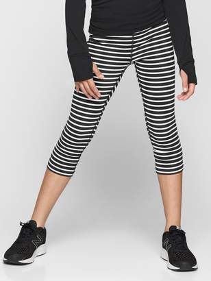 Athleta Girl Stripe Chit Chat Capri