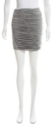 Rag & Bone Ruched Mini Skirt
