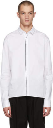 Haider Ackermann White Classic Shirt