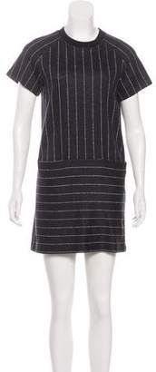 ATM Anthony Thomas Melillo Short Sleeve Mini Shift Dress