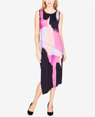 Rachel Roy Draped Asymmetrical Dress, Created for Macy's