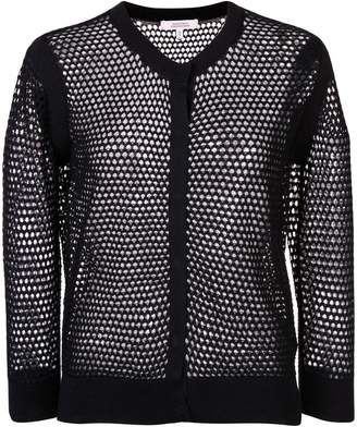 Schumacher Dorothee knitted mesh cardigan