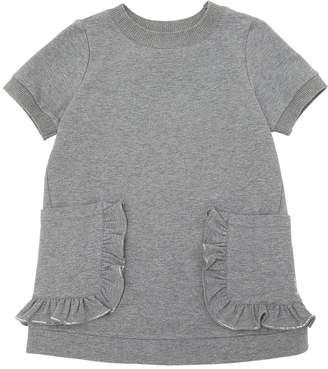 Simonetta Cotton Sweatshirt Dress