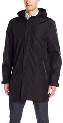Kenneth Cole New York Men's Lightweight Bonded Poly Walker with Removable Hood