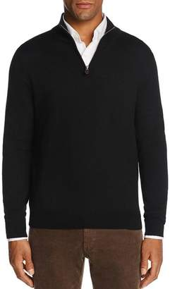 Bloomingdale's The Men's Store at Quarter-Zip Merino Sweater - 100% Exclusive