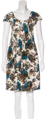 Marni Floral Knee-Length Dress