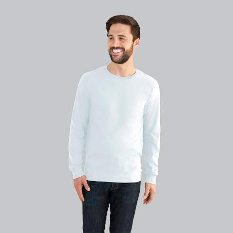 Fruit of the Loom Select Fruit of the Loom Men's Long Sleeve T-Shirt