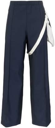 Maison Margiela wool belt bag trousers