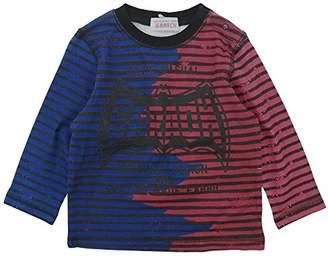 GARACH (ギャラッチ) - GARACH(ギャラッチ) 天竺GARACHロゴボーダーPt長袖Tシャツ 90cm /ネイビー NO.AH-511411