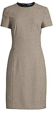 Polo Ralph Lauren Women's Check Sheath Dress