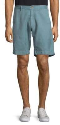 Plain Buttoned Shorts
