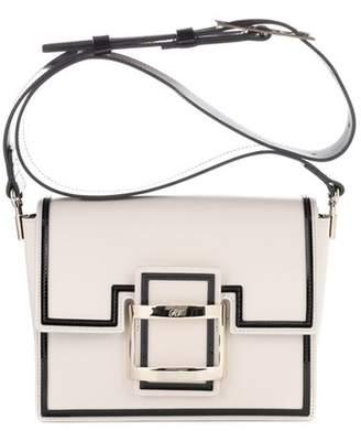 Roger Vivier Viv Mini Graphic leather shoulder bag