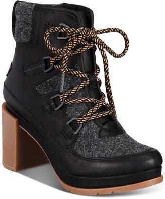 Sorel Women Blake Waterproof Lace-Up Booties Women Shoes