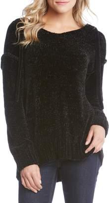 Karen Kane Hooded Chenille Sweater