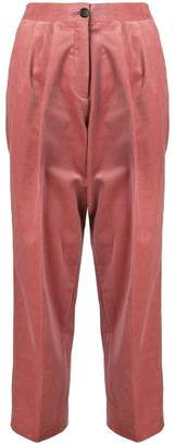 Paul Smith corduroy triple-pleat trousers