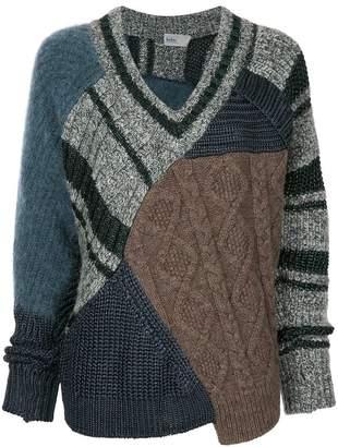 Kolor Vネックセーター