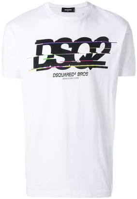 DSQUARED2 DSQ2 logo print T-shirt