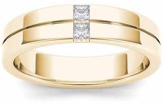 Imperial Diamond Imperial 1/4 Carat T.W. Diamond Men's 14kt Yellow Gold Wedding Band