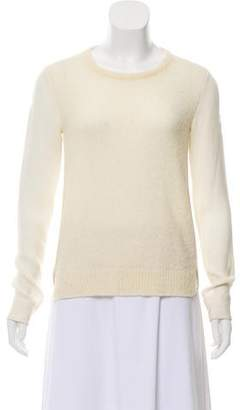 Theory Silk and Wool Long Sleeve Top