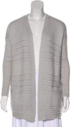 Rebecca Taylor Knit Open Front Cardigan