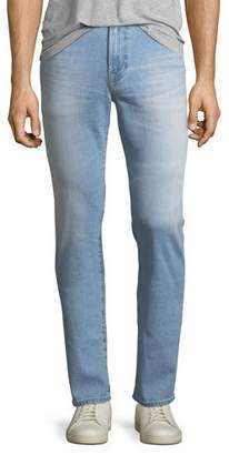AG Adriano Goldschmied Everett Slim Straight-Leg Jeans in 12 Years Maverick
