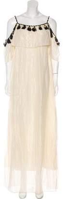 Rachel Zoe 2016 Embellished Maxi Dress