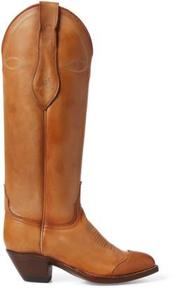 Polo Ralph Lauren Kiera Leather Cowboy Boot