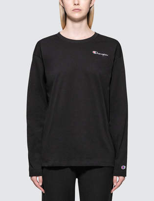 Champion Reverse Weave Small Logo Long Sleeve T-shirt