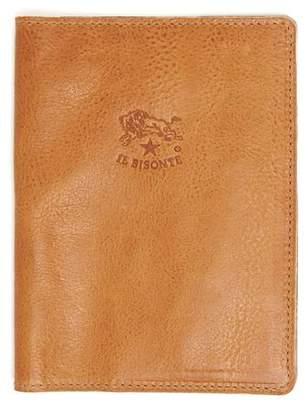 Il Bisonte Cowhide Passport Case in Natural
