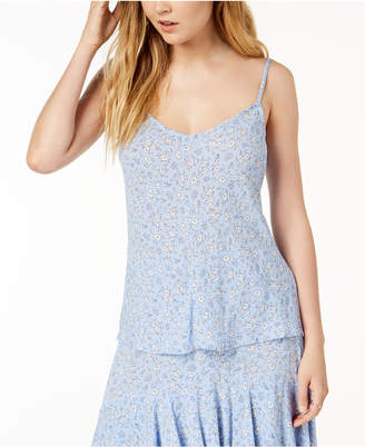 One Hart Juniors' Printed Camisole Top, Created for Macy's