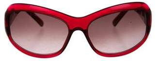 Loewe Round Gradient Sunglasses
