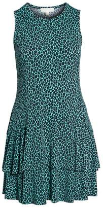 MICHAEL Michael Kors Sleeveless Flounce Dress